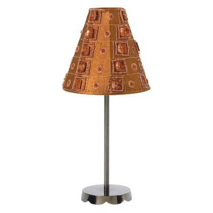 35551 Brown Satin Lamp