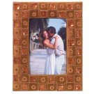35553 Brown Satin Photo Frame