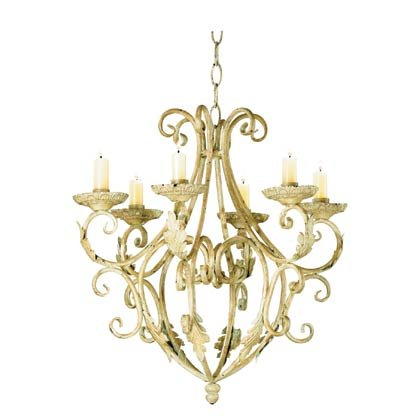 35601 Wrought Iron Chandelier