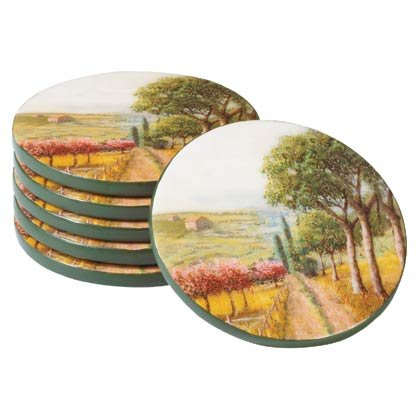35679 Tuscan Coaster Set