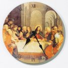 35687 Last Supper Clock