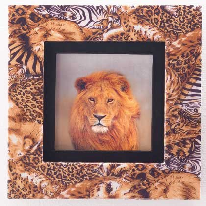35694 Safari Framed Lion