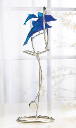 35741 Large Blue Dolphin Swing