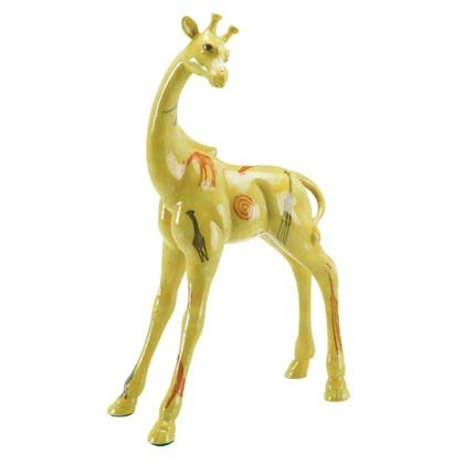 35743 Abstract Art Giraffe Sculpture