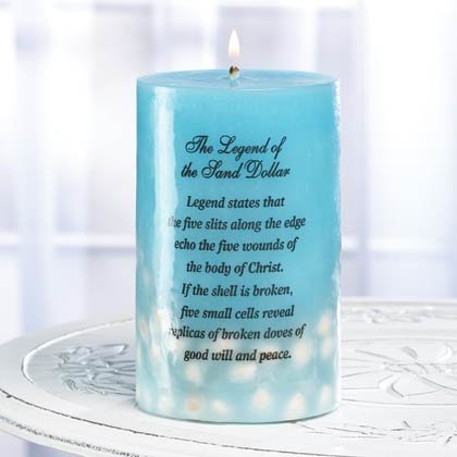 35763 Sea Treasures Candle