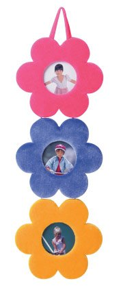 35562 Plush Flower Hanging Frames