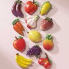 23742 Alabastrite Fruit & Veggie Magnetic Memo Holders (Retail - 1.99ea)