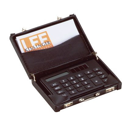 25895 Mini Briefcase Calculator