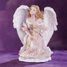 28087 Angel Kneeling With Rose