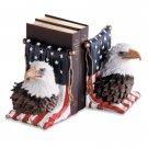 29193 Alabastrite American Eagle Bookends
