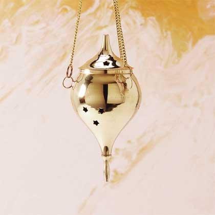 29362 Brass Hanging Cone Burner