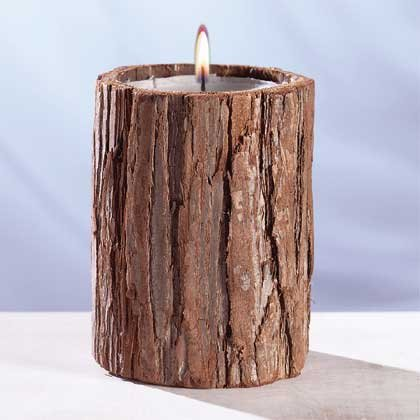 29552 Scented Candle - Bark