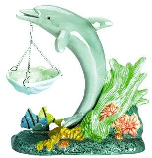 30119 Porcelain Oil Burner - Dolphin