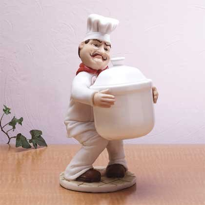 31230 Chef Cookie Jar