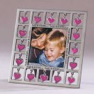 31324 Hugs And Kisses Pewter Photo Frame