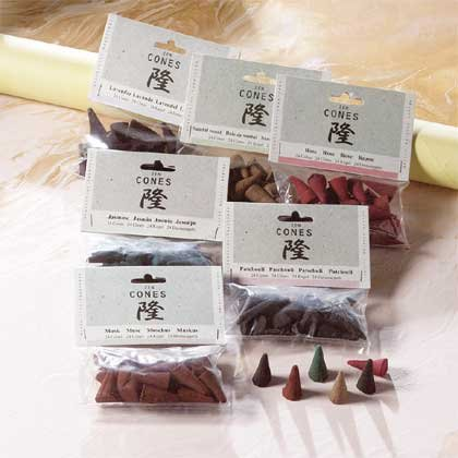 31608 1 DZ Zen Scented Cones Packets (Retail - 1.99ea.)