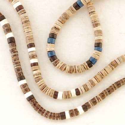 31684 1 DZ Coconut Shell Necklaces (Retail - 2.99ea.)