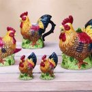 31733 Rooster Tabletop Set