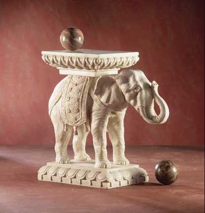 32005 Elephant Plant Stand