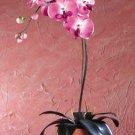 32076 Fabric Fuschia Orchid in Pot