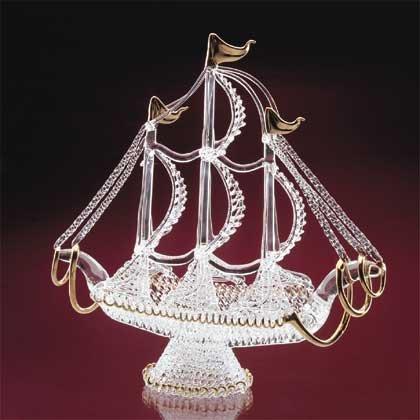 32267 Spun Glass Schooner