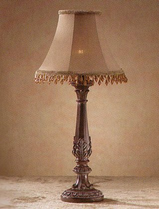 32276 Beaded Shade Lamp