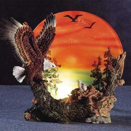 32291 Eagle and Chicks Nightlight