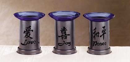 32315 Love, Peace,Joy Oil Burners