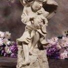 32349 Garden Angel with Rabbit