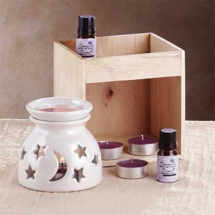 33055 Ceramic Oil Warmer Set