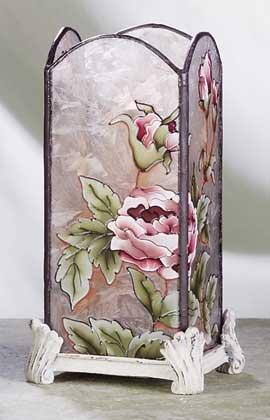 33181 Victorian Roses Votive Holder