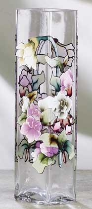 33186 Victorian Flowers Bud Vase