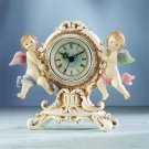33220 Victorian Clock with Cherubs