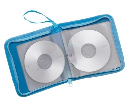 35737 6 Plush Flower CD Cases (Retail - 6.95ea)