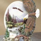 35197 Eagles Plate Votive Holder