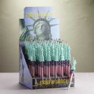 33279 3-Dozen Statue of Liberty Pens with Stand (Retail - 1.99ea.)