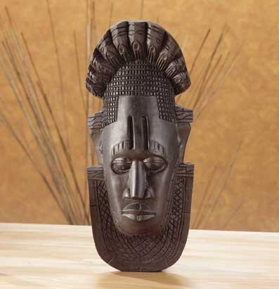 33295 Ebony-Look African Mask