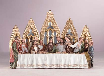 33531 Last Supper with Mirror Backdrop