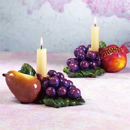 33618 Fruit Candle Holders