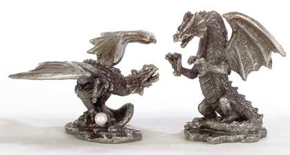33672 Pewter Dragons