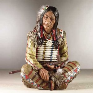 33686 Chief with Peace Pipe