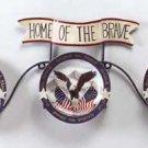 33766 Eagle and Flag Plate Set