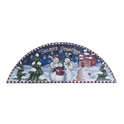 "33777 ""Season's Greetings"" Snowman Door Crown"