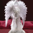 33852 Frosted Fiber Optic Angel
