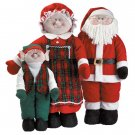 33889 Soft-Sculpture Santa Family