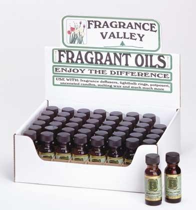 34030 4 DZ Fragrance Valley Oils (Retail - 4.99ea)