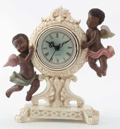 34134 Cherub Desk Clock