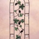 34141 Metal Grapevine Candle Screen