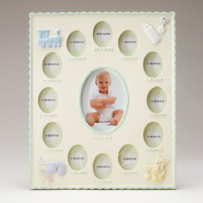 34147 Babys First Year Photo Frame