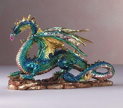 34214 Multicolored Metallic Dragon